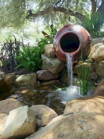 25 Stunning Backyard Ponds Ideas With Waterfalls (1)