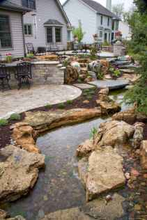 25 Stunning Backyard Ponds Ideas With Waterfalls (10)