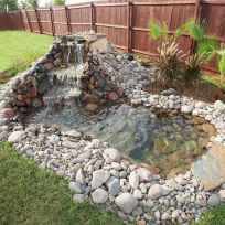 25 Stunning Backyard Ponds Ideas With Waterfalls (11)
