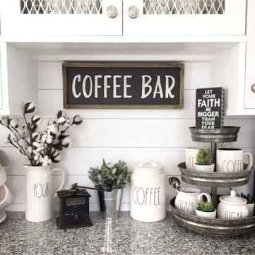 32 Awesome DIY Mini Coffee Bar Design Ideas For Your Home (17)