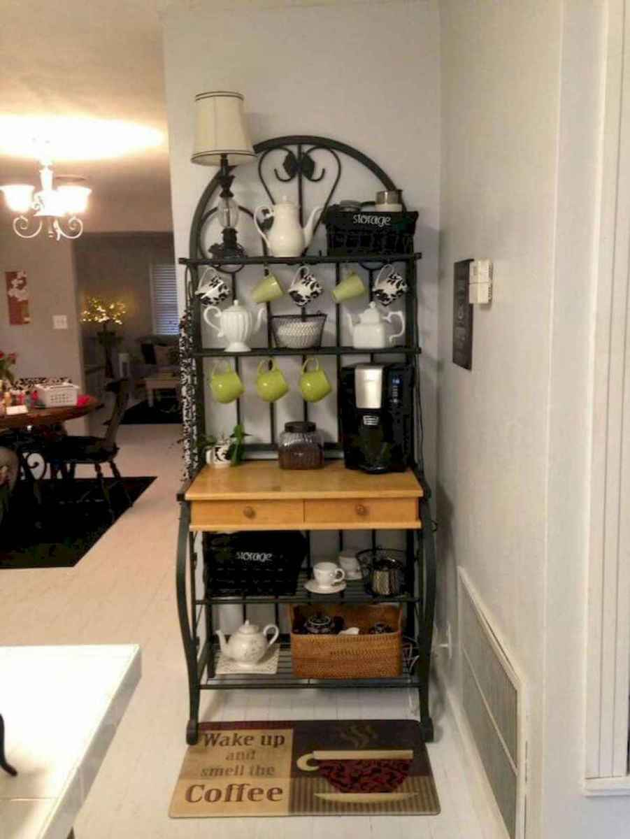 32 Awesome DIY Mini Coffee Bar Design Ideas For Your Home (2)