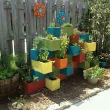 33 Awesome DIY Painted Garden Decoration Ideas for a Colorful Yard (15)