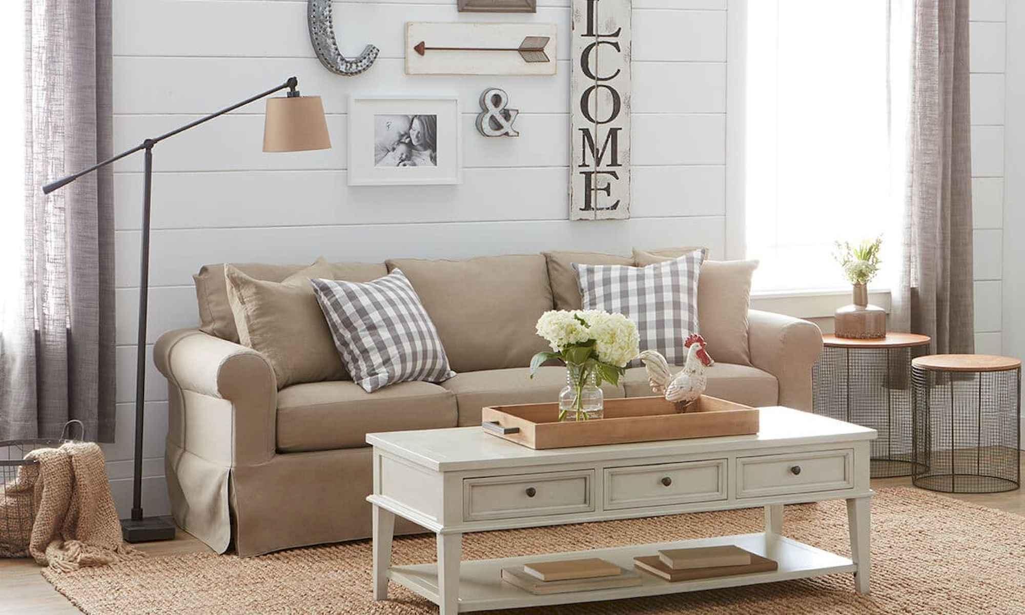 farmhouse living room images modern curtain for 50 rustic decor ideas coachdecor com 36