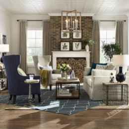 50 Rustic Farmhouse Living Room Decor Ideas (4)