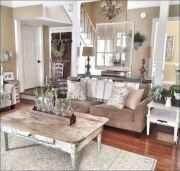 50 Rustic Farmhouse Living Room Decor Ideas (9)
