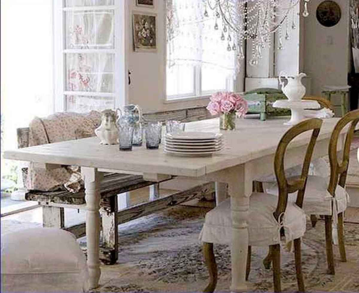 50 Vintage Dining Table Design Ideas And Decor (20)
