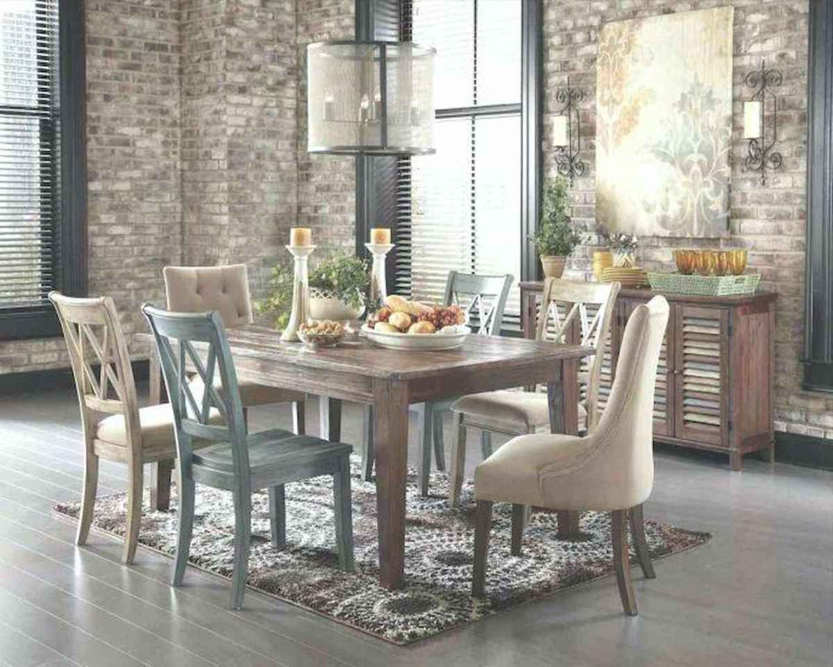 50 Vintage Dining Table Design Ideas And Decor (37)