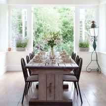 50 Vintage Dining Table Design Ideas And Decor (38)