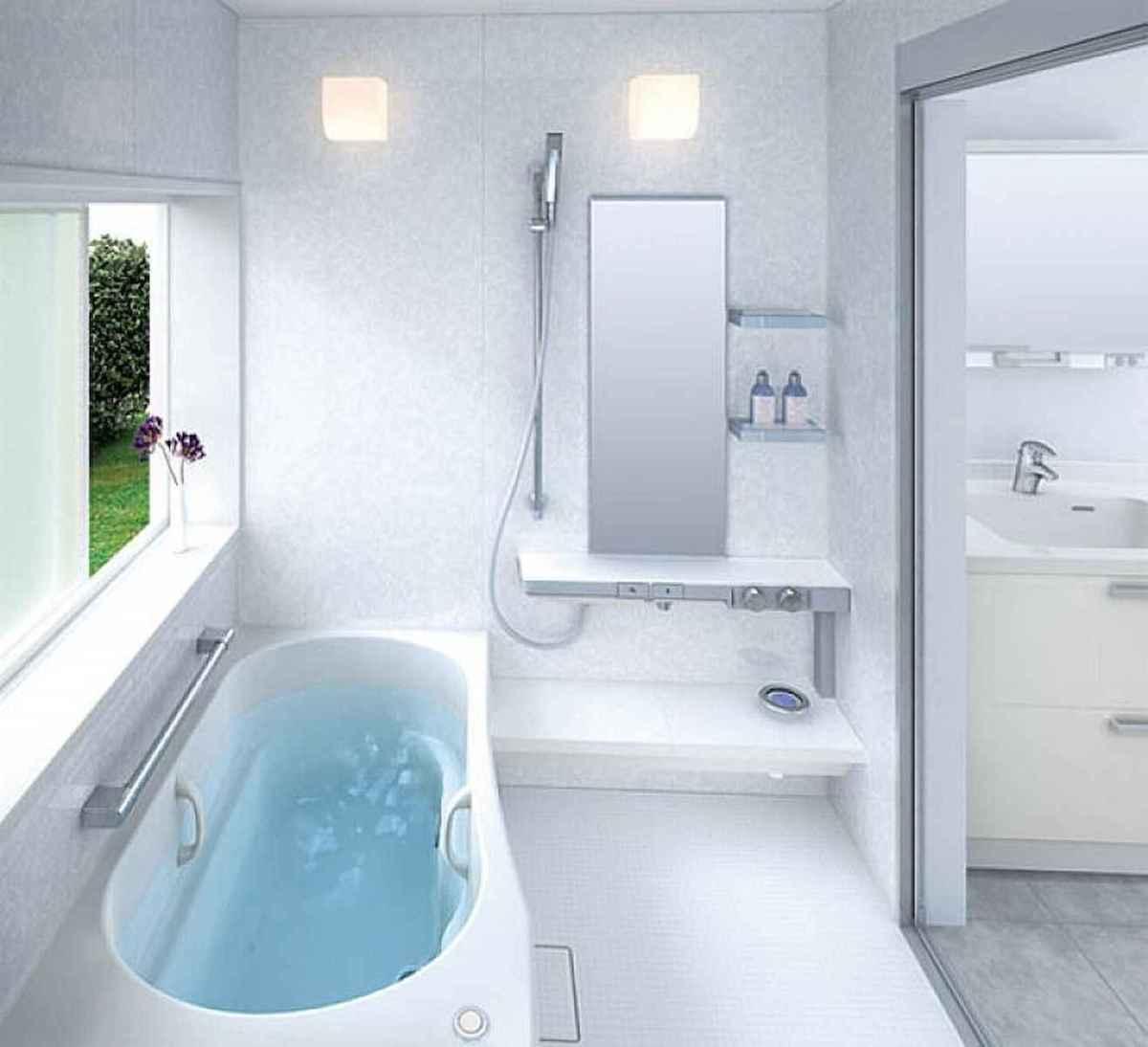 54 Amazing Small Bathroom Remodel Ideas (13)