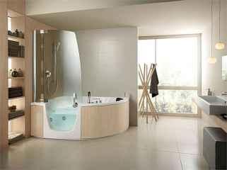 60 Master Bathroom Shower Remodel Ideas (16)