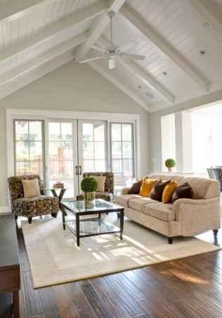 60 Modern Farmhouse Living Room Decor Ideas (22)