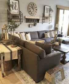 60 Modern Farmhouse Living Room Decor Ideas (23)