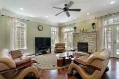 60 Modern Farmhouse Living Room Decor Ideas (47)