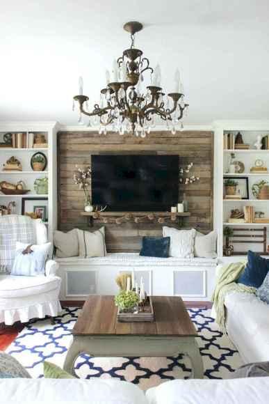 60 Modern Farmhouse Living Room Decor Ideas (55)