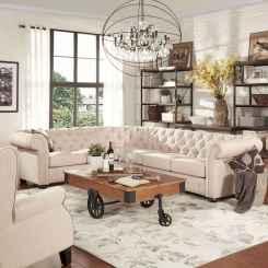 60 Modern Farmhouse Living Room Decor Ideas (58)