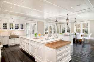 70 Luxury White Kitchen Design Ideas And Decor (40)
