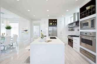 70 Luxury White Kitchen Design Ideas And Decor (52)