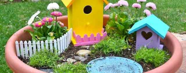 27 Beautiful And Easy Fairy Garden Ideas For Kids (26)