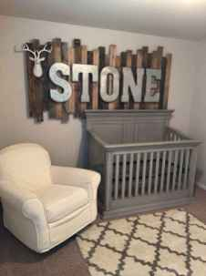30 Adorable Rustic Nursery Room Ideas (14)