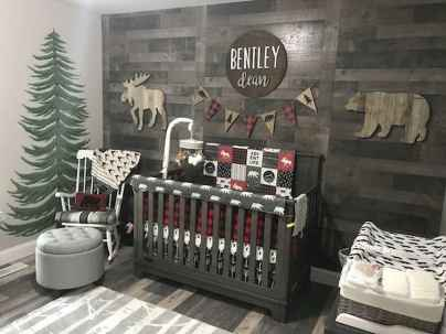 30 Adorable Rustic Nursery Room Ideas (26)
