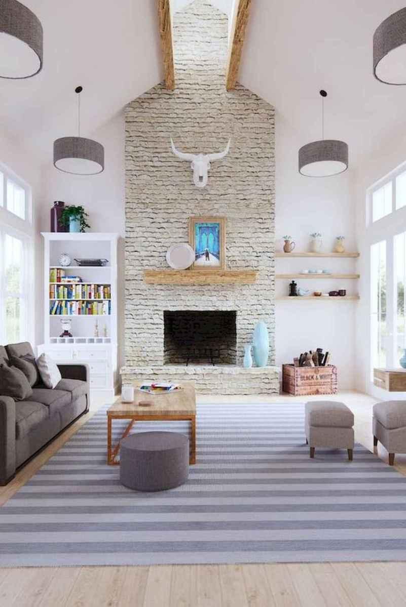 33 Farmhouse Living Room Flooring Ideas (22)