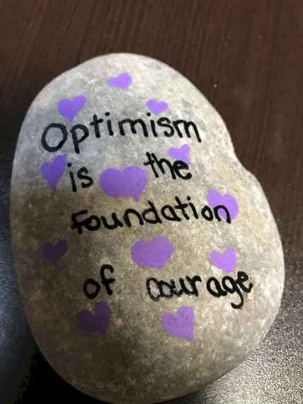 35 Awesome Painted Rocks Quotes Design Ideas (13)