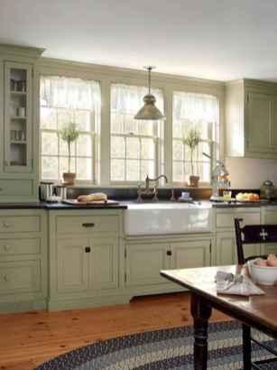 17 Best Green Kitchen Cabinets Design Ideas (14)
