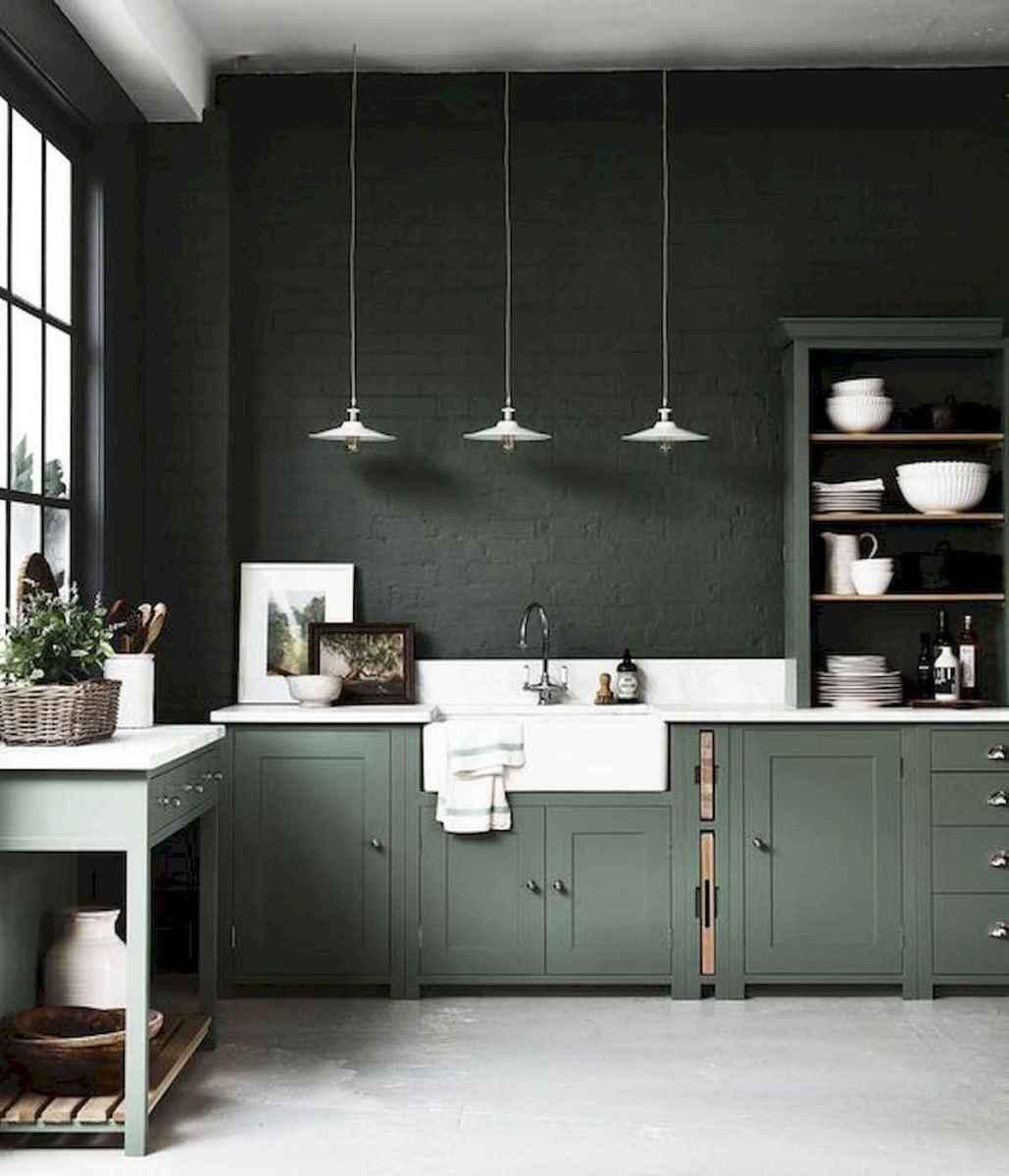 17 Best Green Kitchen Cabinets Design Ideas (16)