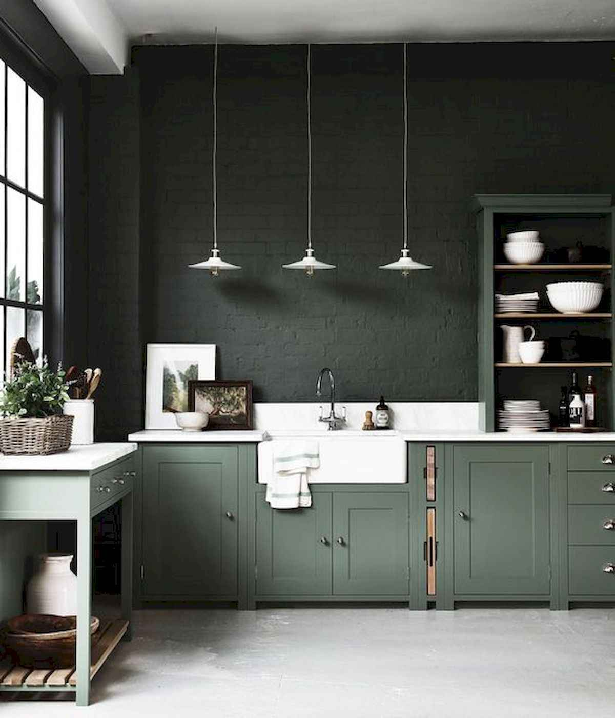 51 Green Kitchen Designs: 17 Best Green Kitchen Cabinets Design Ideas (16