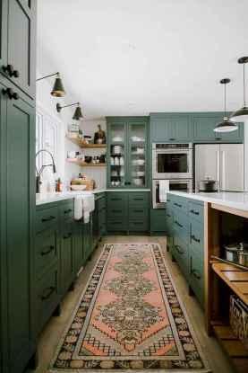17 Best Green Kitchen Cabinets Design Ideas (17)