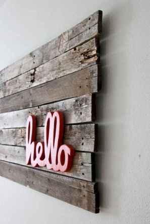 30 Easy DIY Pallet Wall Art Ideas (1)
