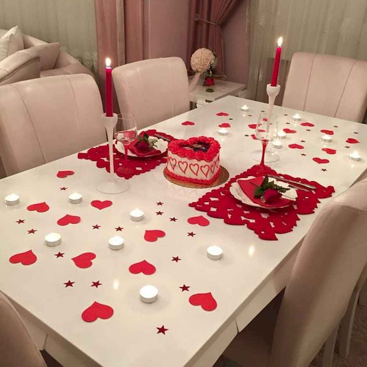 33 Best Beautiful Valentines Day Decorations Ideas (1)