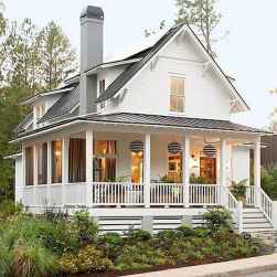 40 Awesome Farmhouse Porch Design Ideas And Decorations (4)