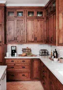 40 Best Farmhouse Kitchen Cabinets Design Ideas (12)