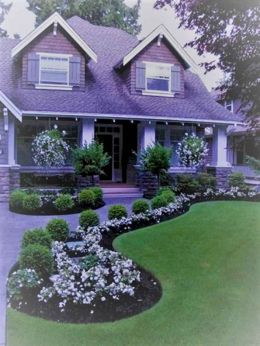 40 Cool Front Yard Garden Landscaping Design Ideas And Remodel (10)