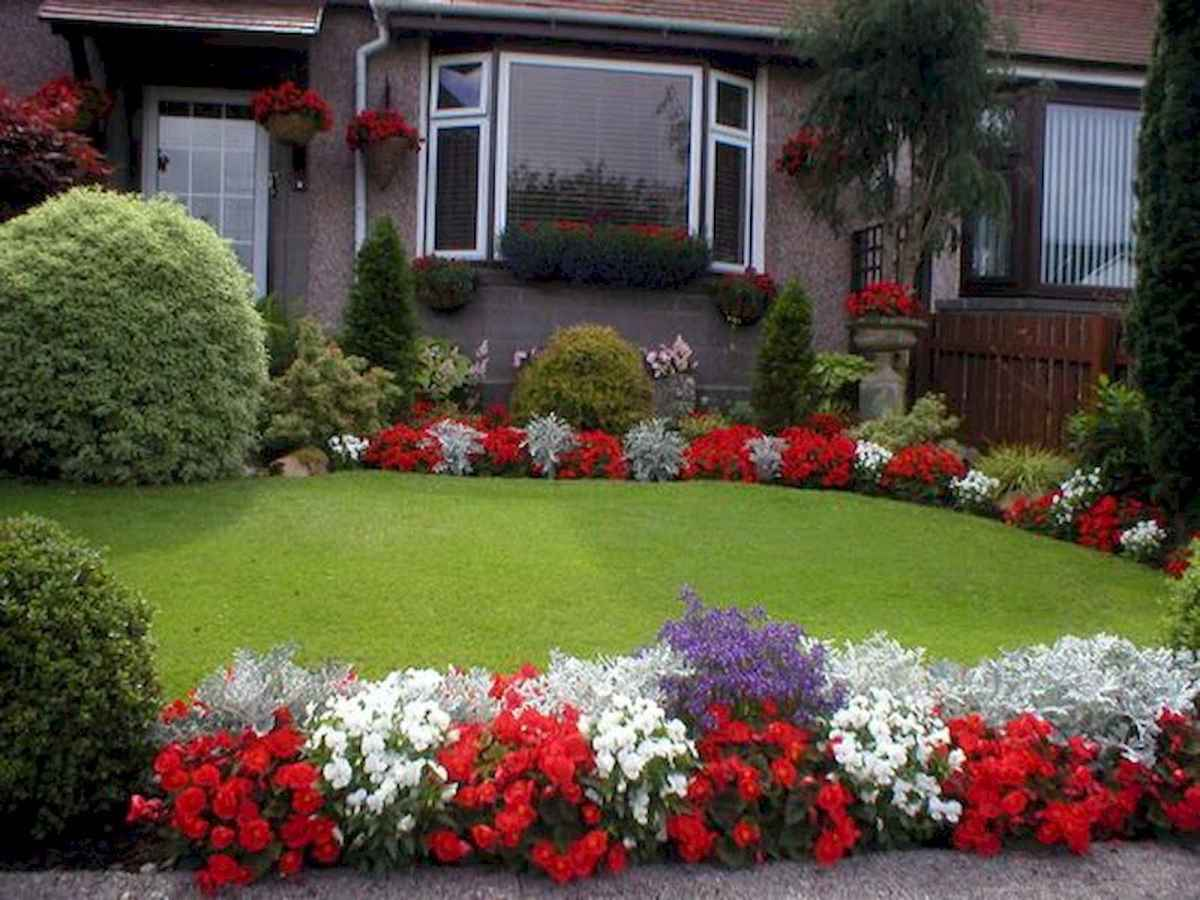 40 Cool Front Yard Garden Landscaping Design Ideas And Remodel (25)