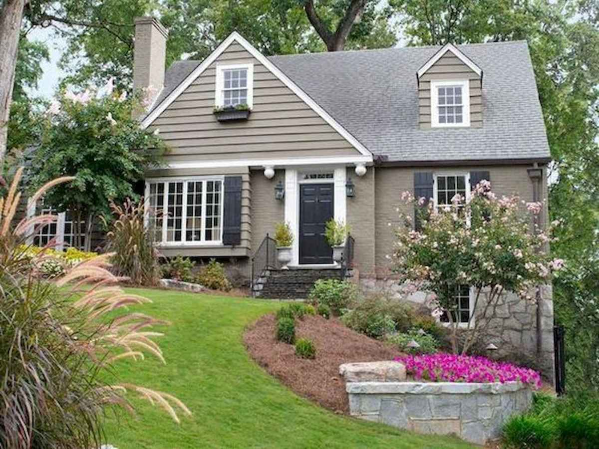 40 Cool Front Yard Garden Landscaping Design Ideas And Remodel (27)