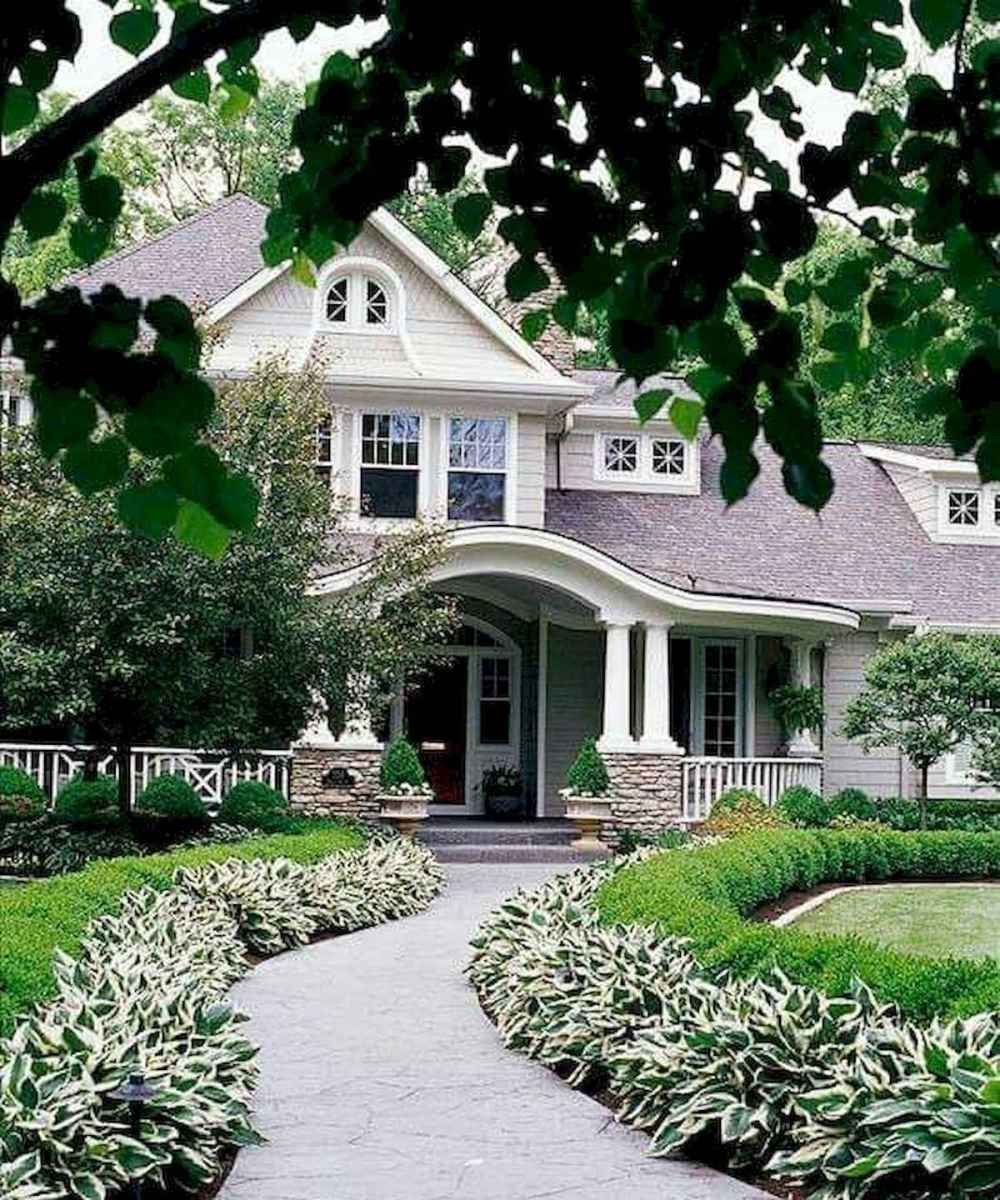 40 Cool Front Yard Garden Landscaping Design Ideas And Remodel (39)
