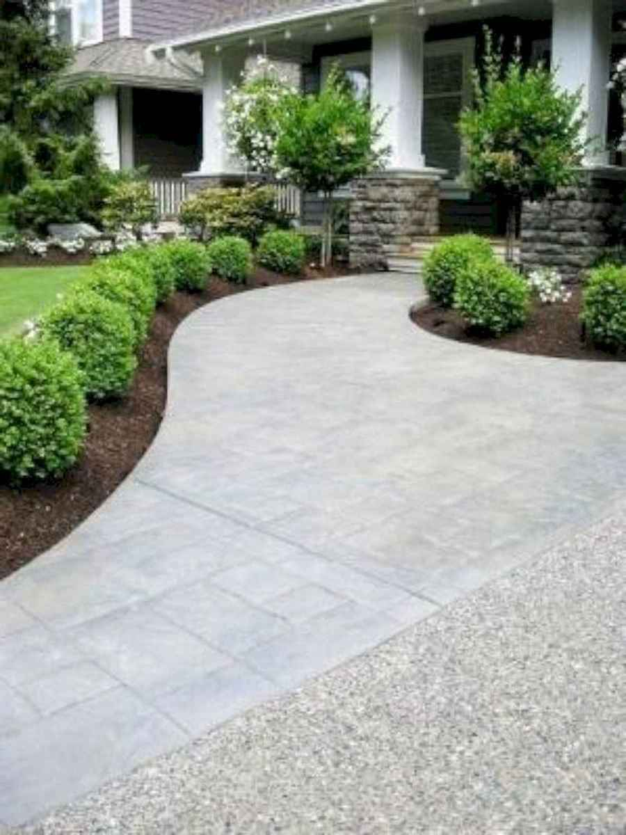 40 Cool Front Yard Garden Landscaping Design Ideas And Remodel (40)