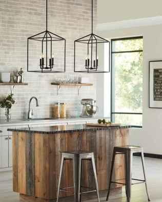 50 Best Modern Farmhouse Kitchen Island Decor Ideas (29)
