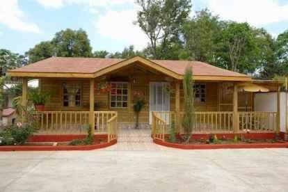 40 Best Log Cabin Homes Plans One Story Design Ideas (11)
