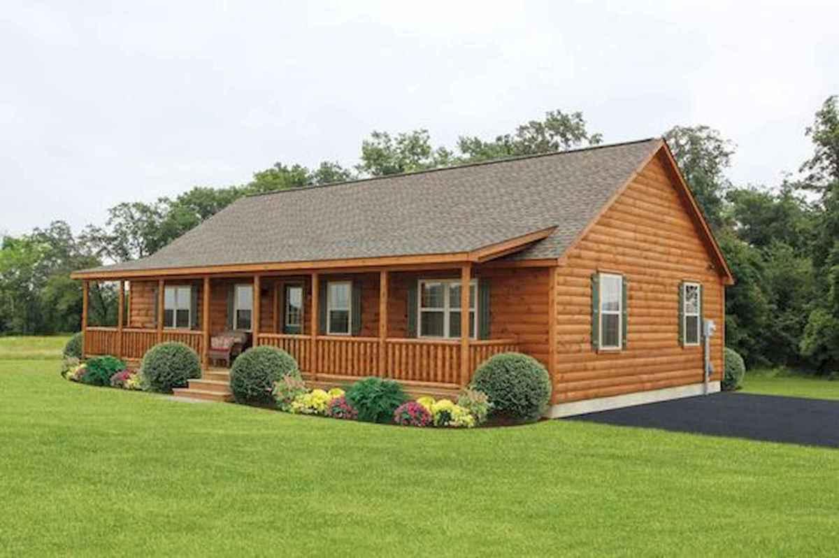 40 Best Log Cabin Homes Plans One Story Design Ideas (19)