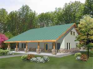 40 Best Log Cabin Homes Plans One Story Design Ideas (24)