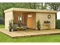 40 Best Log Cabin Homes Plans One Story Design Ideas (38)
