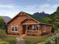 40 Best Log Cabin Homes Plans One Story Design Ideas (39)