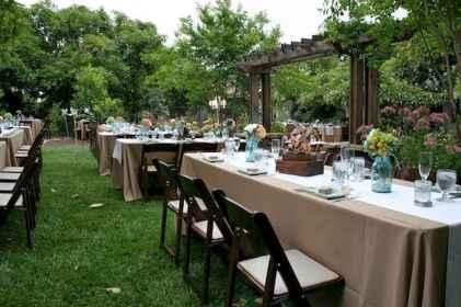 44 Stunning Backyard Wedding Decor Ideas On A Budget (10)