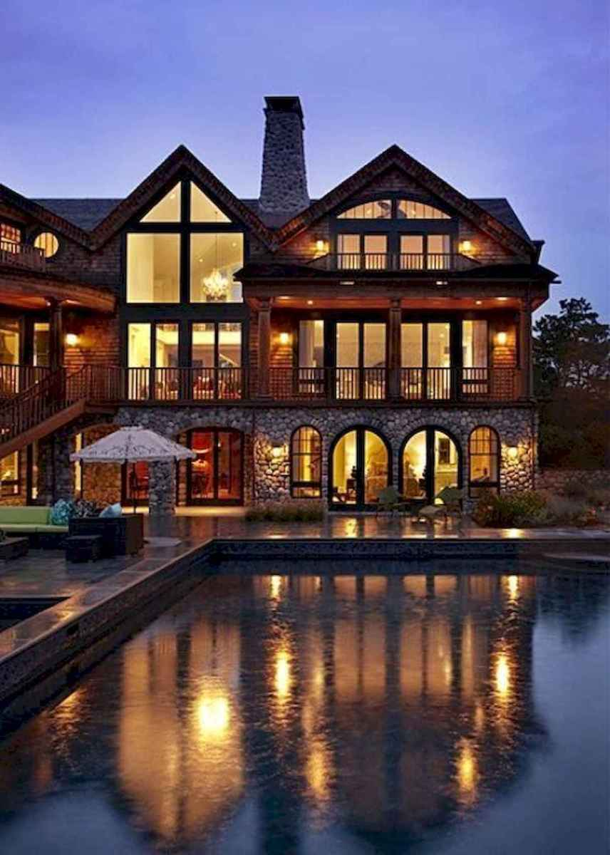50 Best Log Cabin Homes Modern Design Ideas (20)