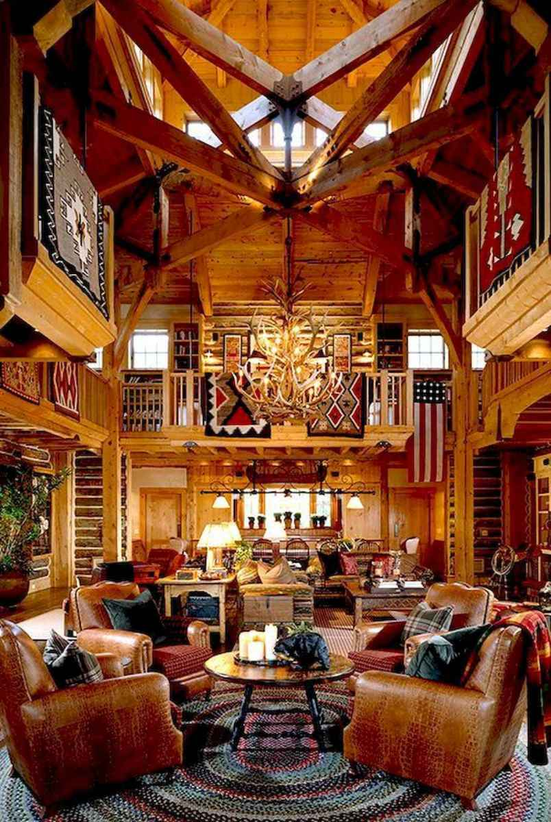 50 Best Log Cabin Homes Modern Design Ideas (50)