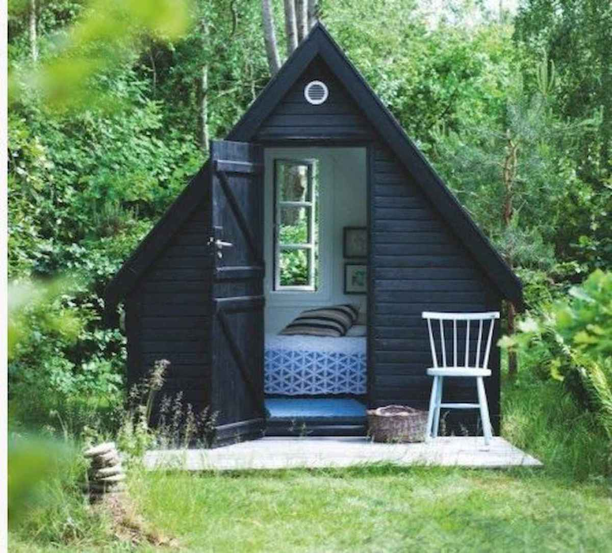 70 Fantastic Small Log Cabin Homes Design Ideas (33)