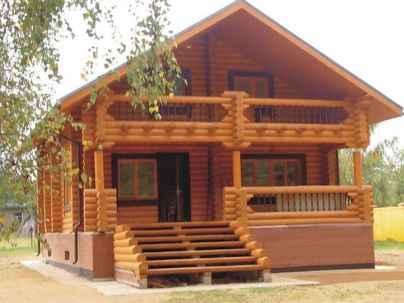 70 Fantastic Small Log Cabin Homes Design Ideas (49)